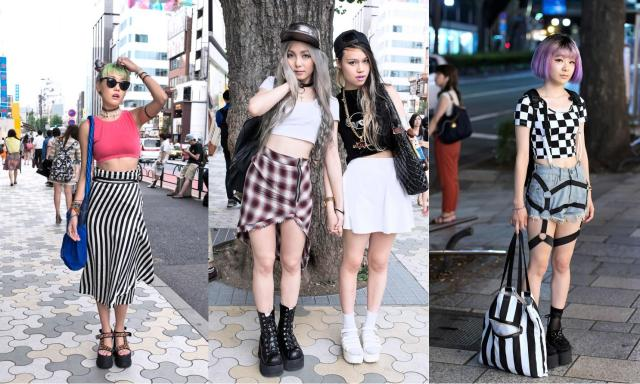 Image result for pictures of japanese street style looks